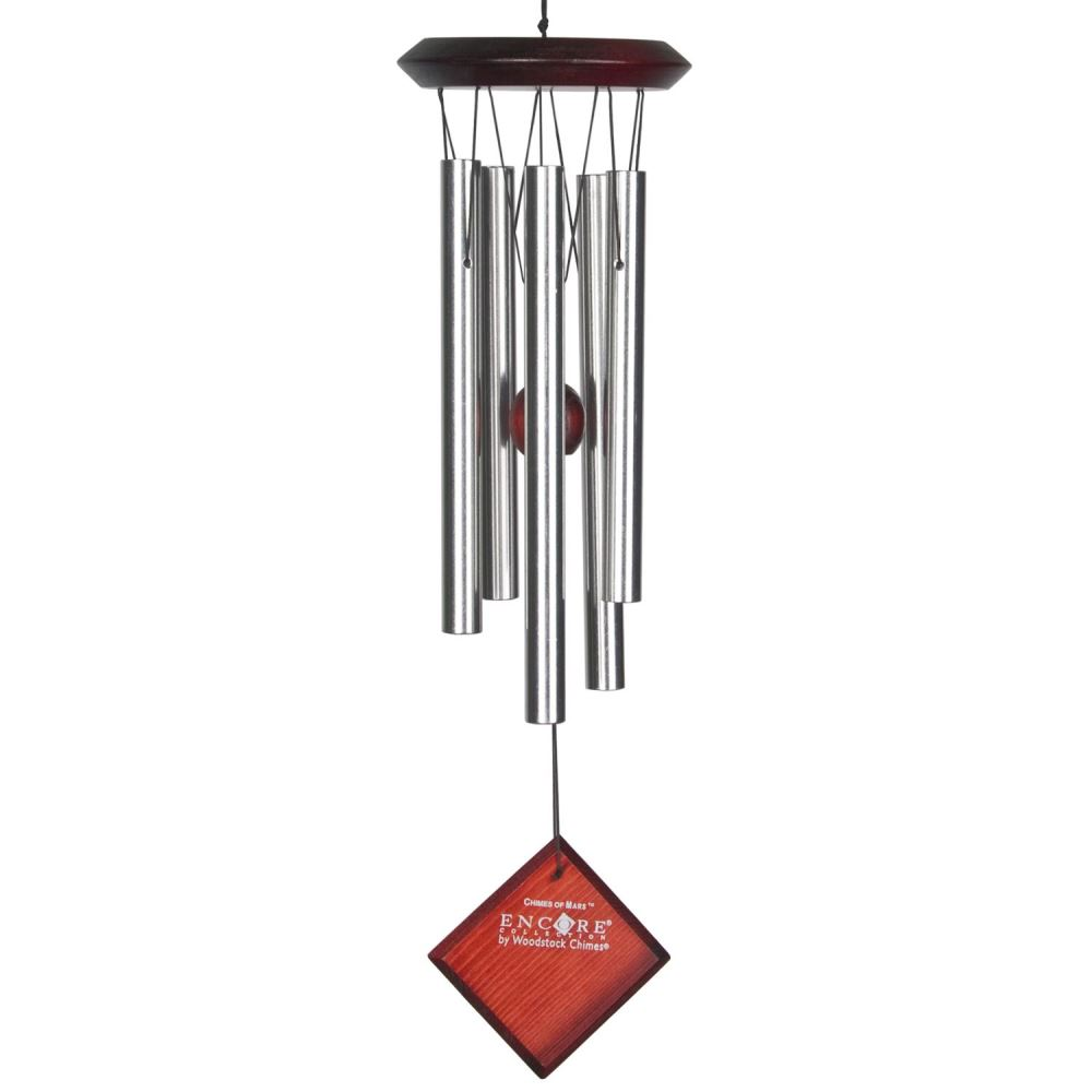 Woodstock Windchimes - Chimes of Mars - Silver