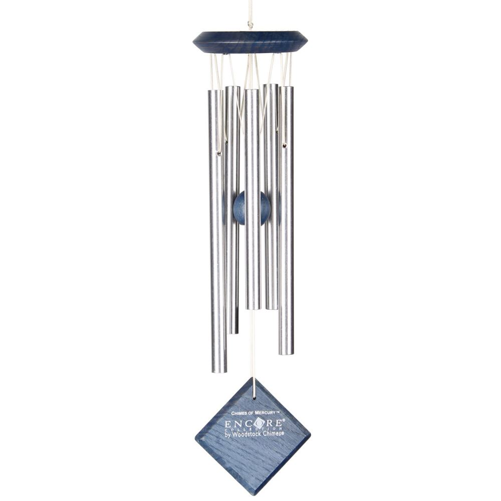 Woodstock Windchimes - Chimes of Mercury - Blue Wash