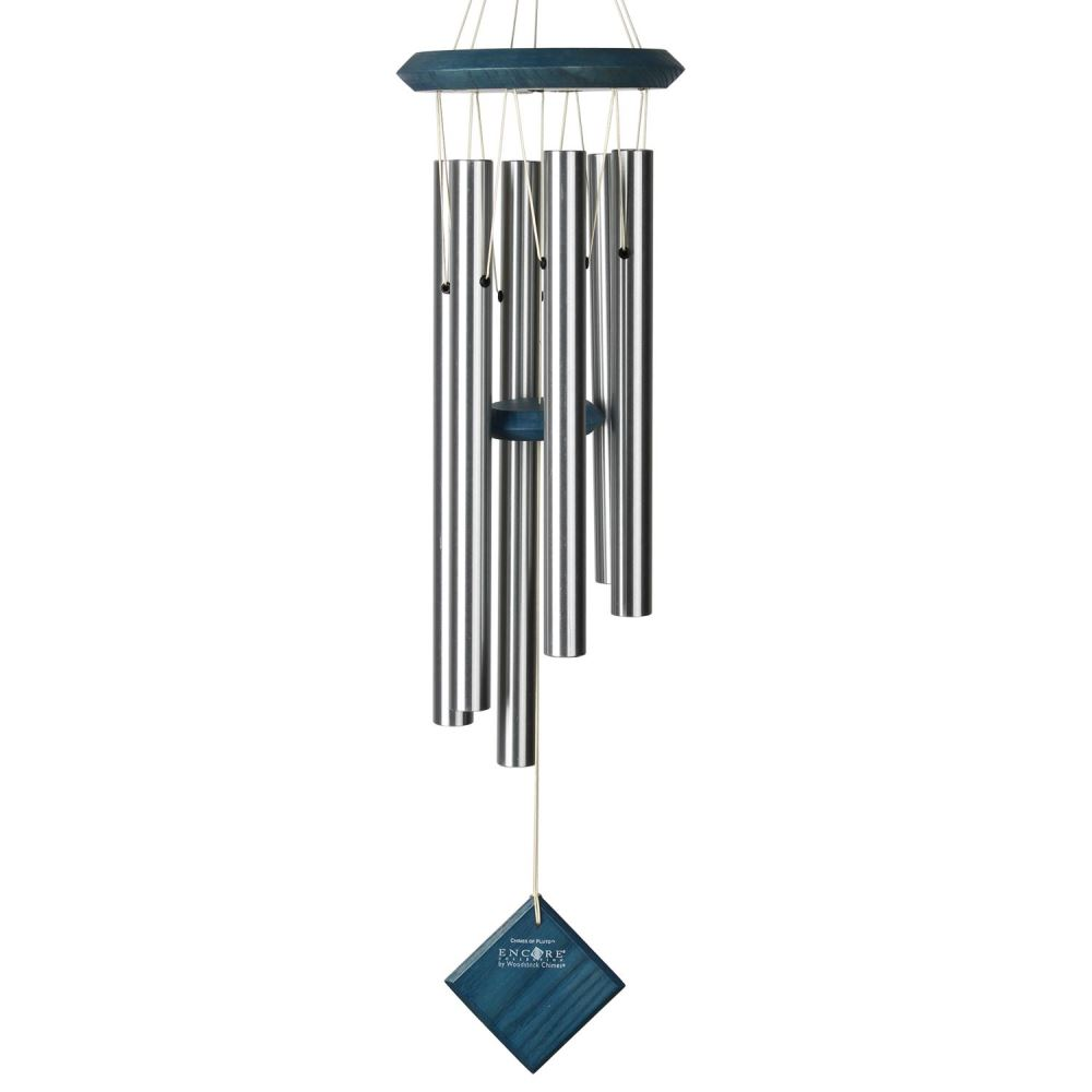 Woodstock Windchimes - Chimes of Pluto - Blue Wash