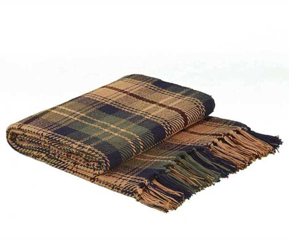 Woven Throw Blanket - Thorton - 50in x 60in