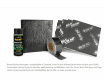 Boom-Mat Products