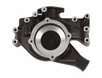 CVF - Black Chrysler 383-440-Crate Hemi Aluminum Water Pump Housing