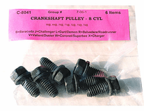 Crankshaft Pulley Bolts