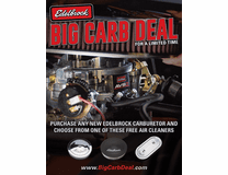 Edelbrock Carburetor Deals