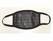 FCA Multi-Branded Subliminated Face Mask