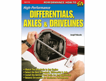 High-Perf Diff, Axles, & Drivelines