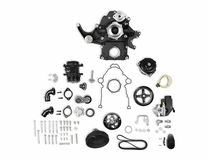 Holley Black Mid-Mount Complete Accessory System