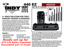 INDY 440-EZ 1 Head Assemby (2)