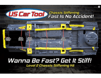Level 2 Chassis Stiffening Kit 63-66 A-Body Dodge