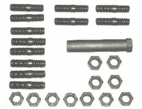 Mancini Racing - 1966-69 Big Block Low Performance Exhaust Manifold Fastener Kit