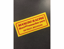 "Mancini Racing ""Retro"" Patch"