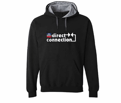 Direct Connection Hooded Sweatshirt