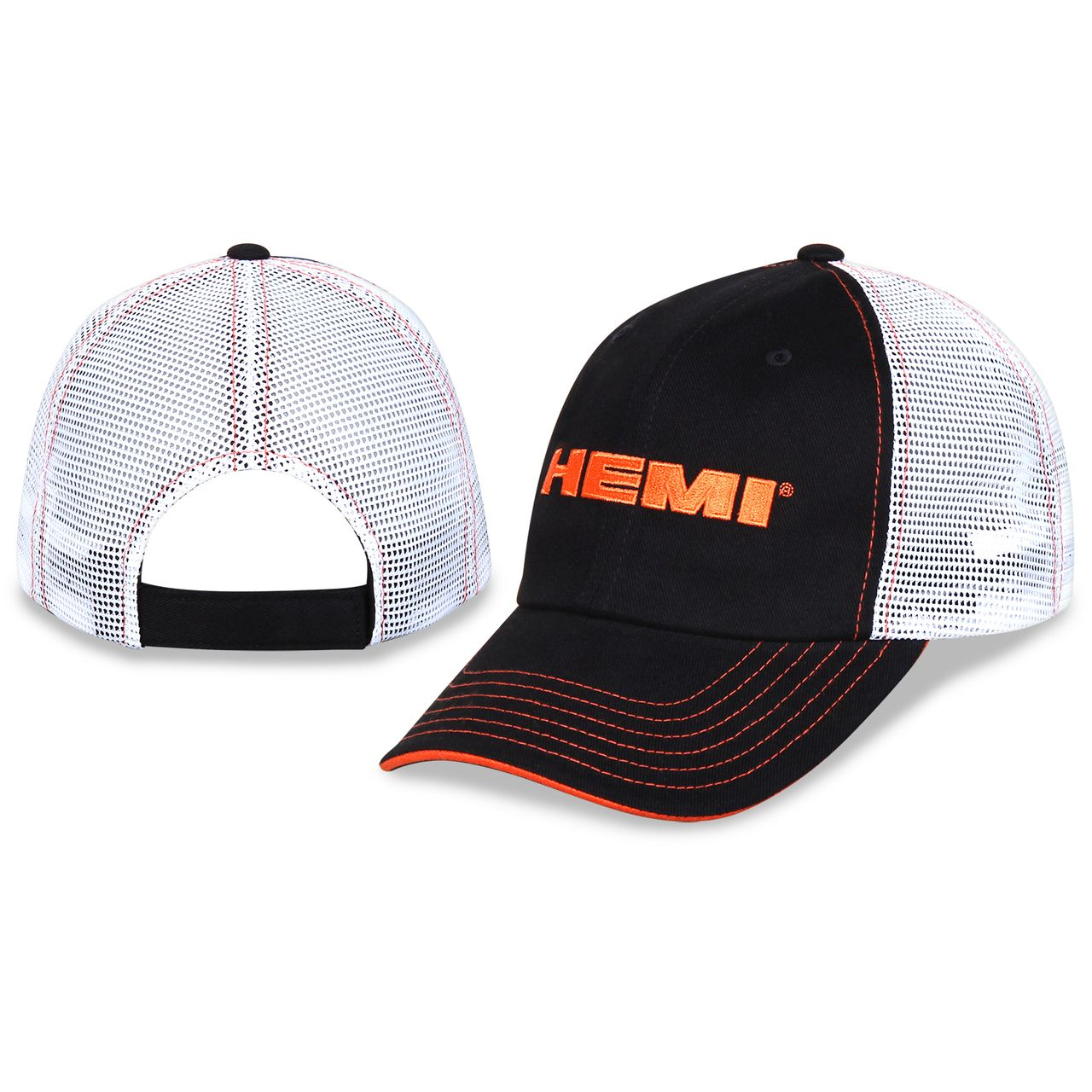 0aede086932 Mopar Gear - HEMI Trucker Cap - Black   White