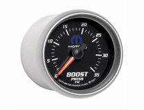 "MOPAR Logo Gauge - 2-1/16"" BOOST, 0-35 PSI"