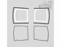 Taillight Gaskets with Bezel Gaskets