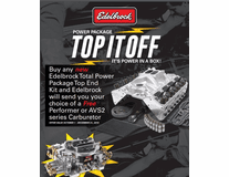 Top It Off With Edelbrock