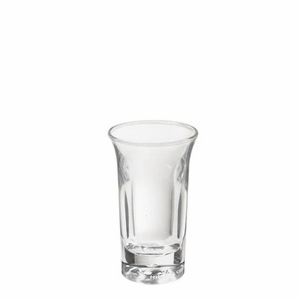 1 Oz. Shooter Glass in break resistant BPA-Free Tritan™ SAN Acrylic