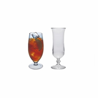 Acrylic Hurricane & Ice Tea Glasses