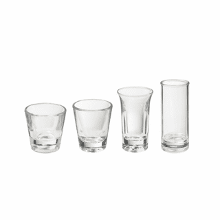 Acrylic Shot & Shooter Glasses