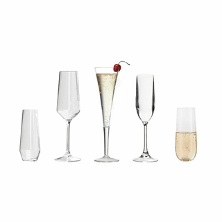 Acrylic Champagne Flutes
