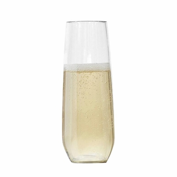 Classic Unbreakable BPA-Free Tritan™ Acrylic Stemless Champagne Glass