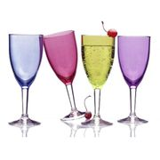 Colorful Acrylic Wine Glass