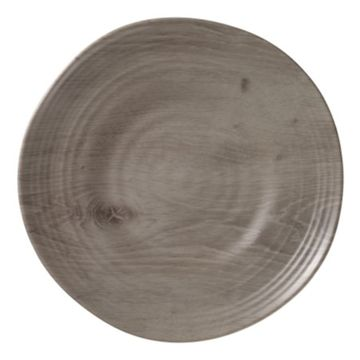 Driftwood Melamine Dinner Plates, Set of 6