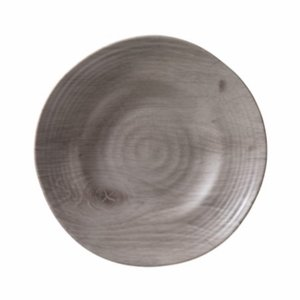 Driftwood Melamine Salad or Dessert Plates - Set/6  sc 1 st  Clearly Acrylic & Driftwood-Look Melamine Plastic Dinnerware Dishes and Platter