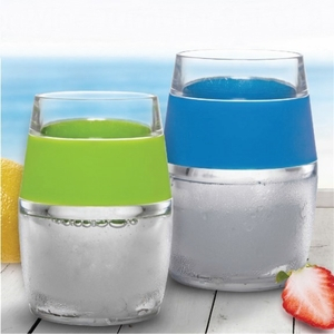 Freezable Stemless Wine Acrylic <br>Tumbler