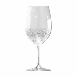 Hammered-Look Acrylic BPA Free Unbreakable Classic Red Wine Glass