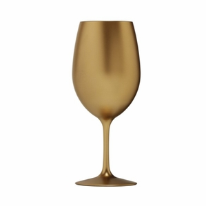 Metallic Gold BPA-Free Tritan™ Acrylic Wine Glass