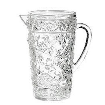 Embossed Paisley Acrylic Pitcher