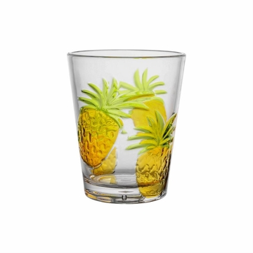Pineapple Acrylic DOF Tumblers Set/4