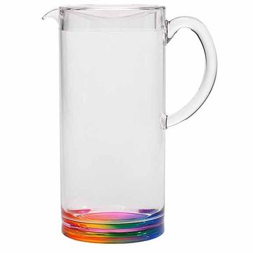 Rainbow Acrylic Teardrop Pitcher