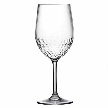 Tritan™ Hammered Unbreakable Classic White Wine Glass