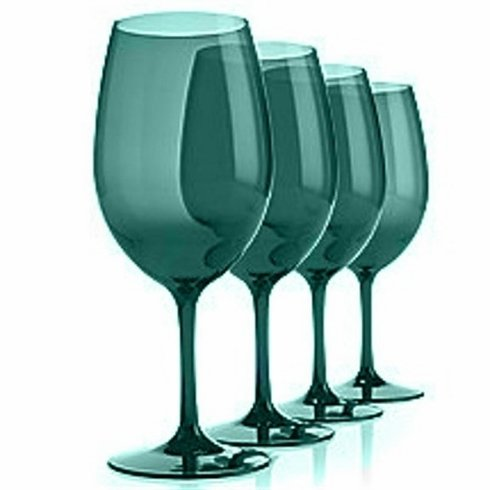 Unbreakable Classic Wine Glass (Green) - Set/4