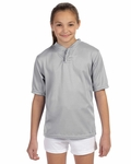 Augusta Sportswear Men's Jersey: 100% Polyester 2-Button with Moisture Wicking (427)