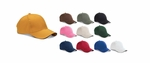 Big Accessories Cap: 100% Cotton 6-Panel Twill Sandwich Baseball (BX004)