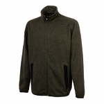 Men's Heathered Fleece Jacket