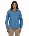 Ladies' 6.5 oz. Long-Sleeve Denim Shirt: (M550W)