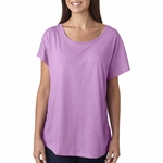 Next Level Women's T-Shirt: Preshrunk Tri-Blend Dolman Sleeve Scoop Neck (6760)