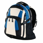Port Authority Backpack: Urban Mini Ripstop 3-Color with Compression Straps (BG77)