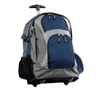 Port Authority Backpack: Polyester Wheeled (BG76S)