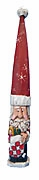 Tall Hat Pencil Santa Claus with Stocking