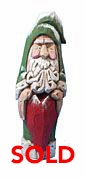 Old World Santa Claus with Heart