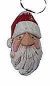 Old World Santa Bust Ornament