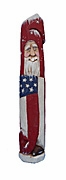 Belsnickle Patriotic Pencil Santa Claus #18093