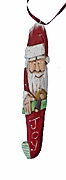 Stocking Santa Claus Ornaments
