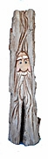 Hand carved cotton wood Wizard Woodcarving Decoration