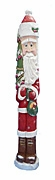 Wood Hand Carved Santa Claus #18046